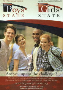 Learn more about Boys and Girls State!